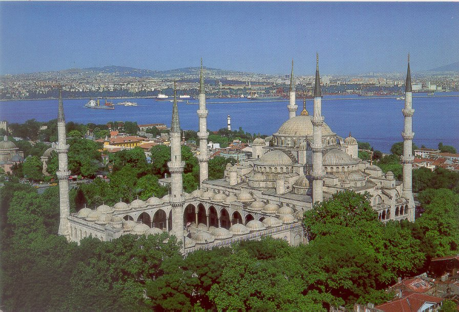 mosquee bleue 5 - Beautiful Places In The World